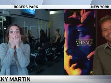 Entrevista a Ricky Martin en WGN de Chicago