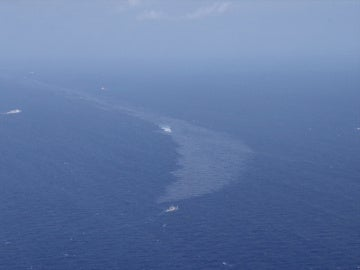La mancha del petrolero Sanchi