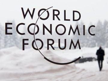 Logo de la 48 edición del Foro de Davos