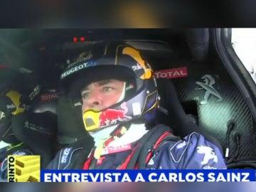 Carlos Sainz, sobre Cataluña