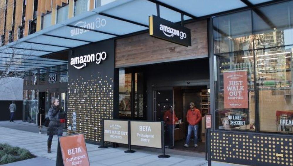 ANTENA 3 TV   Amazon abre su primera tienda Amazon Go, un ...