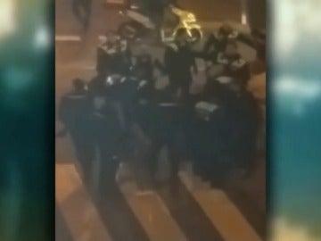 Juicio por agredir a 15 policías en el barrio de Tetuán