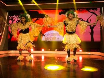 Mónica Cruz baila el Zaouli tradicional de costa de Marfil en 'El Hormiguero 3.0'