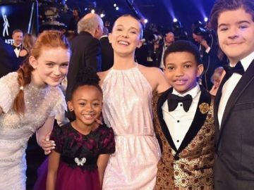 Los protagonistas de 'Stranger Things' y 'This is us'