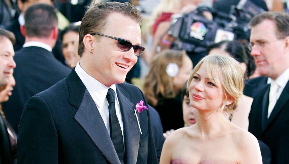 Michelle Williams y Heath Ledger