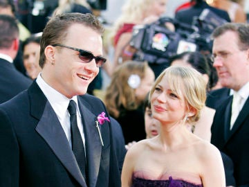 Michelle Williams y Heath Ledger