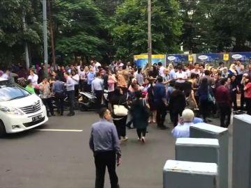 Ocho heridos por un terremoto de magnitud 6 en la isla indonesia de Java