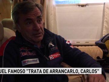"""Entrevista completa a Carlos Sainz: """"No me gustaría que mi hijo corriera el Dakar; le veo campeón de F1"""""""