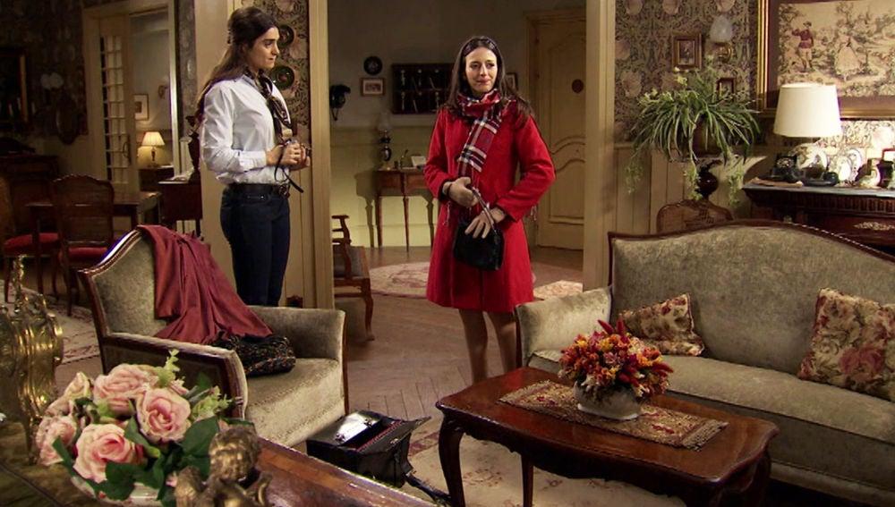 Vicky y Llanos, todo preparado para irse de España