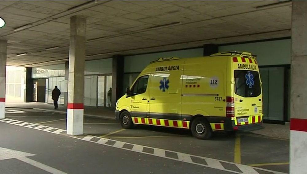 una ambulancia de la comunidad valenciana
