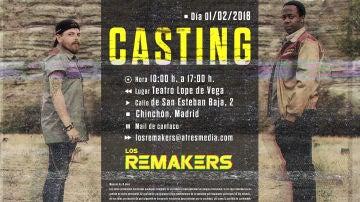 Ven al casting de 'Los Remakers' en Chinchón