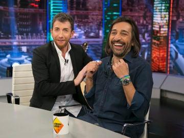 """Las bonitas palabras de Pablo Motos a Antonio Carmona en su visita a 'El Hormiguero 3.0': """"Queda mucho Antonio Carmona por disfrutar"""""""