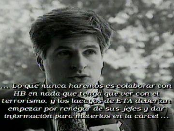 ETA asesinaba al político Gregorio Ordóñez hace 23 años