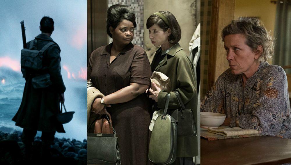 Las nominadas a los Oscar 2018