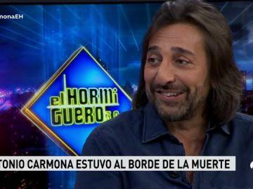 Antonio Carmona reaparece en 'El Hormiguero':