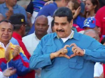 """Maduro, a España: """"Que se pongan en cuatro patas porque lo que le viene es 'pela' del pueblo de Venezuela"""""""