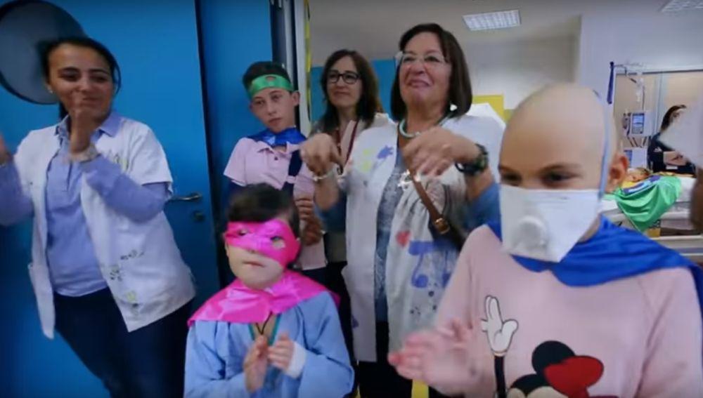 Videoclip del hospital Universitario Virgen de la Arrixaca