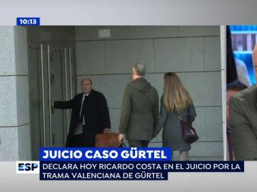 Ricardo Costa declara en la Audiencia Nacional por la trama Gürtel