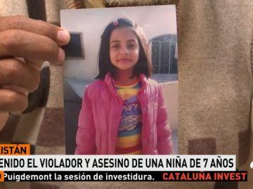 La Policía detiene al sospechoso de la violación y el asesinato de una niña en Pakistán