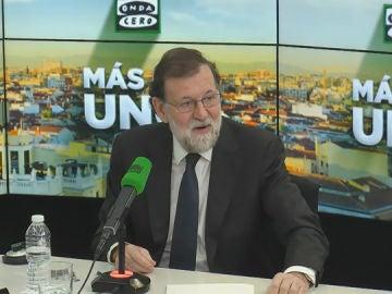 Mariano Rajoy en 'Más de Uno'