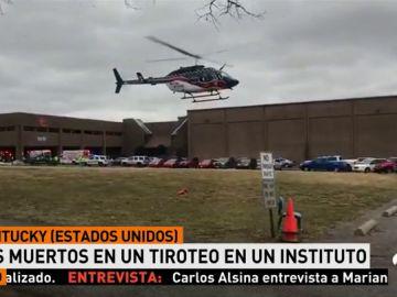 Al menos dos muerto y 19 heridos en un tiroteo en una escuela de EEUU
