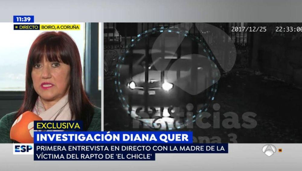 """La reacción de la madre de la joven de Boiro al ver las imágenes del rapto: """"Ella lo está pasando muy mal"""""""