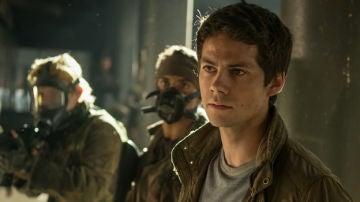 Dylan O'Brien en 'El corredor del laberinto: La cura mortal'