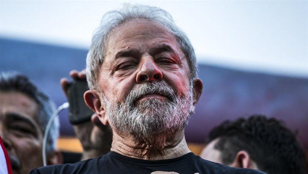 El expresidente brasileño Luiz Inácio Lula da Silva