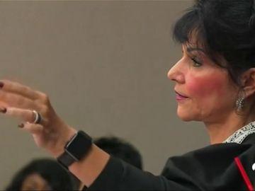 La inesperada reacción de la jueza Rosemarie Aquilina ante Larry Nassar en el juicio por abusos sexuales