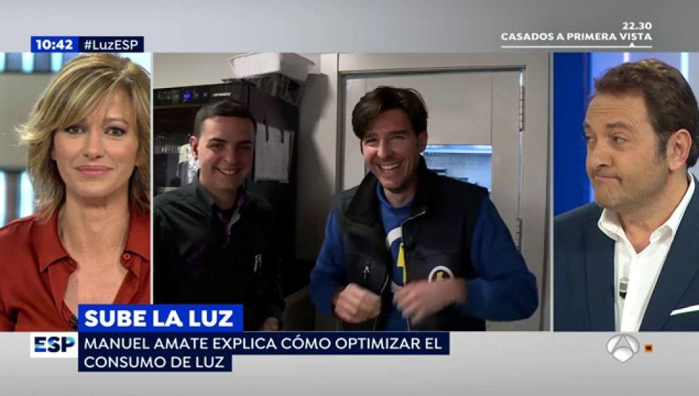 Manuel Amate nos muestra cómo pueden ahorrar los comercios en la factura de la luz