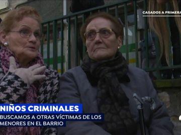 Varios vecinos de Bilbao revelan cómo les robaron los menores