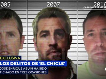 Las fichas policiales de 'El Chicle': supuesta violación, tráfico de drogas e intento de rapto