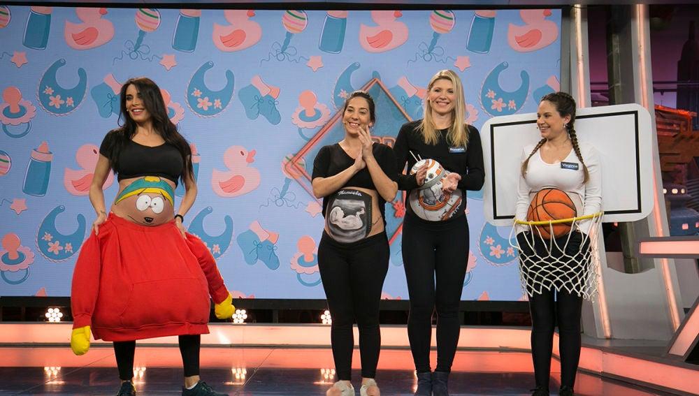 9bf86969c Pilar Rubio muestra en  El Hormiguero 3.0  los mejores disfraces para  embarazadas