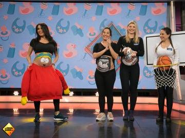 Pilar Rubio muestra en 'El Hormiguero 3.0' los mejores disfraces para embarazadas