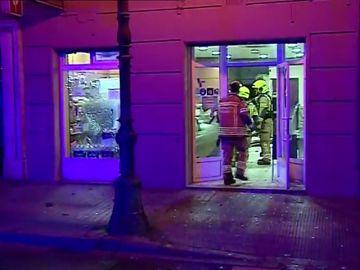 Explosión en una panadería de Valencia