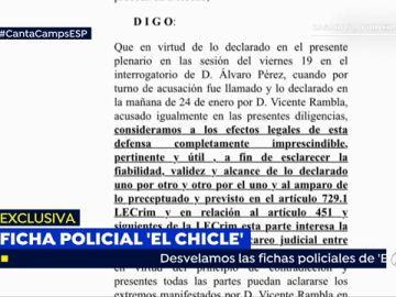 'El Bigotes' solicita al juez un careo con Vicente Rambla por la financiación ilegal del Partido Popular