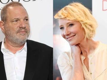 Harvey Weinstein y la actriz Anne Heche