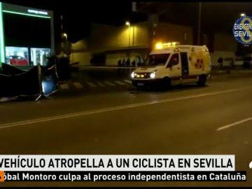 Muere en Sevilla un ciclista atropellado por un conductor, que ha dado positivo en alcohol