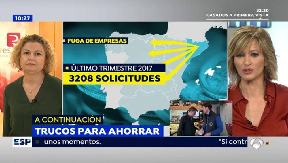 El Colegio de Registradores de la Propiedad afirma que más de 3.200 empresas han iniciado los trámites para mover su sede de Cataluña