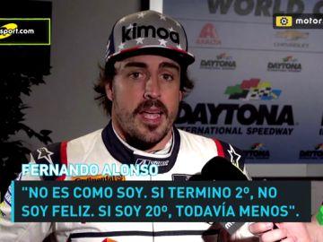 """Fernando Alonso, sobre su periplo en Daytona: """"No hay vacaciones"""""""