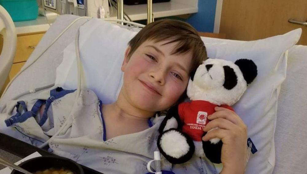 Liam Flanagan, el niño que murió tras una complicación por un accidente de bicicleta
