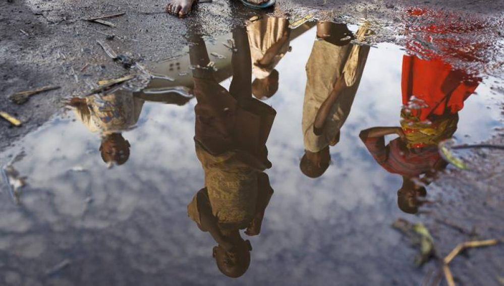 Niños en el Congo