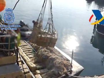 Interceptado un barco en el Atlántico con 12 toneladas de hachís