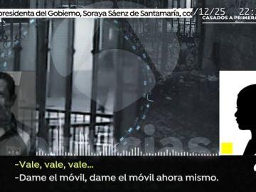 Esta es la nota de audio que grabó la joven de Boiro cuando 'El Chicle' intentó raptarla