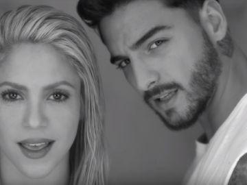 Shakira y Maluma en el vídeo de 'Trap'