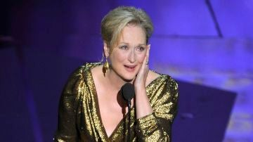 Meryl Streep emocionada