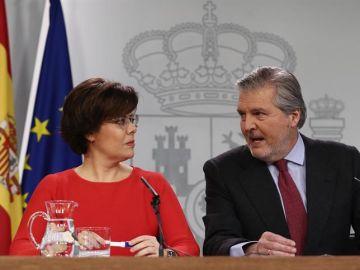 Santamaría y Méndez de Vigo, en el Consejo de Ministros