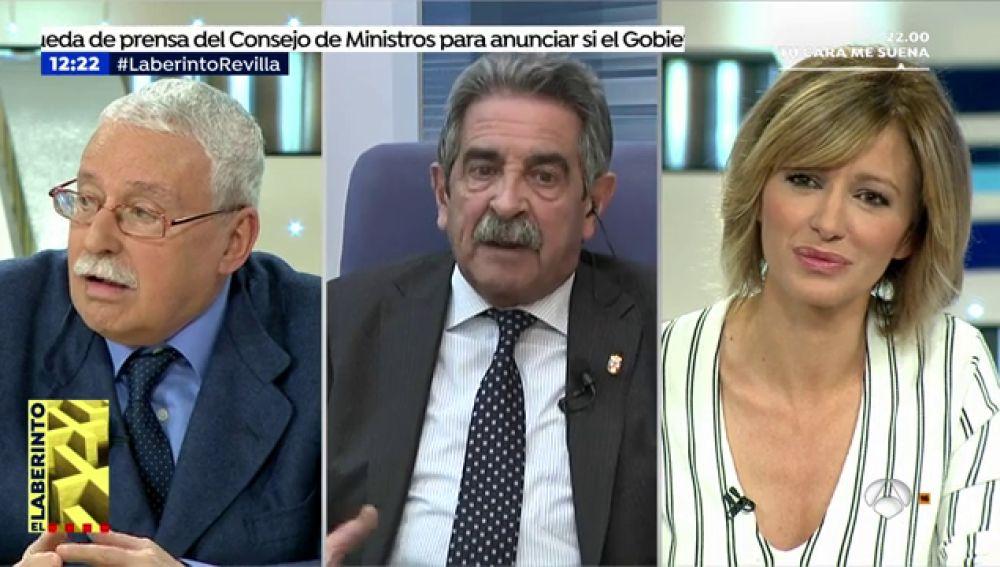 """Miguel Ángel Revilla: """"Jamás en mi vida el Gobierno de Cantabria ha actuado en contra del informe del Consejo de Estado"""""""