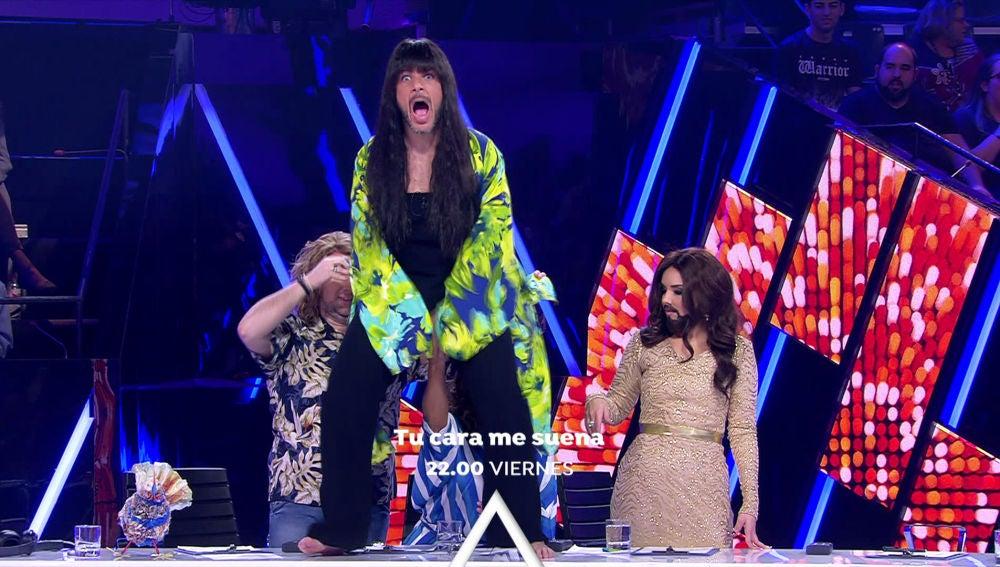 Lo mejor de Eurovisión se vive en 'Tu cara me suena' acompañados de grandes invitadas