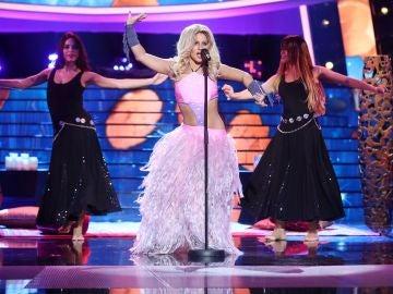 Lucía Gil se desmelena como Shakira versionando 'Gitana'